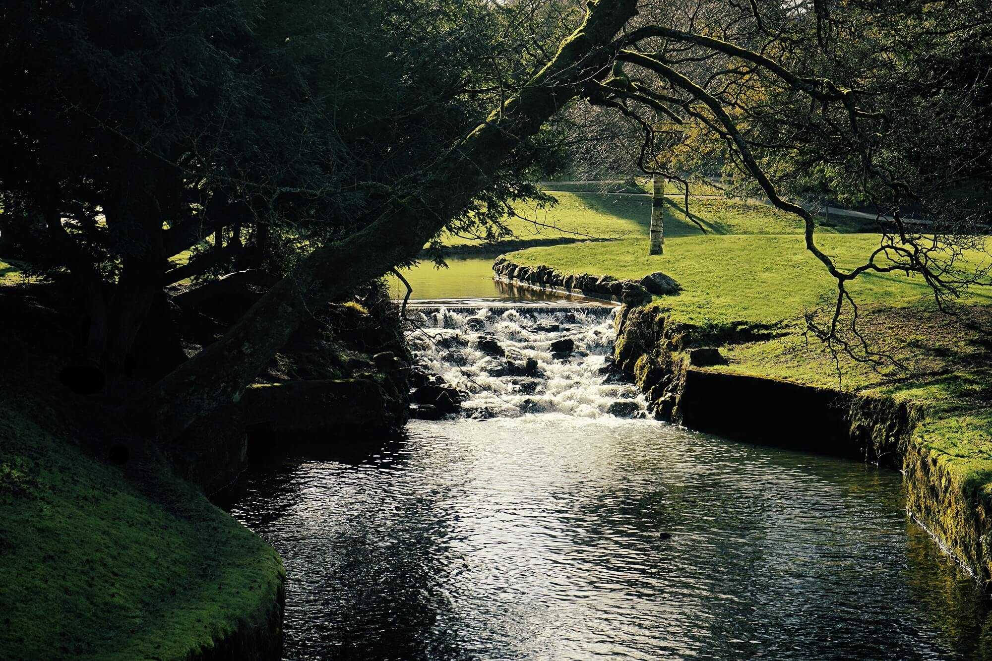 Buxton river in the daytime