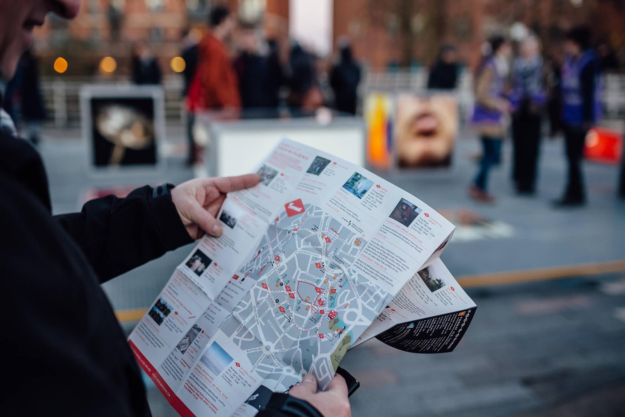 FORMAT17 map of venues