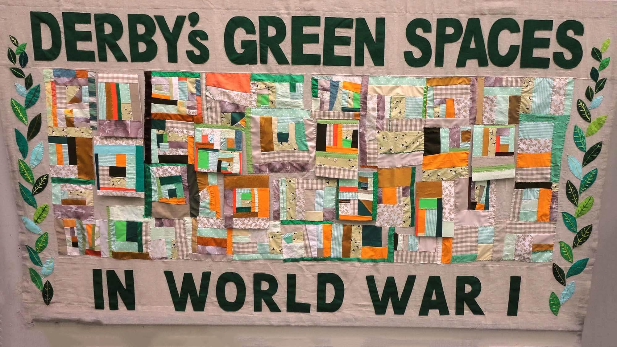 Hidden Histories of the First World War wall hanging