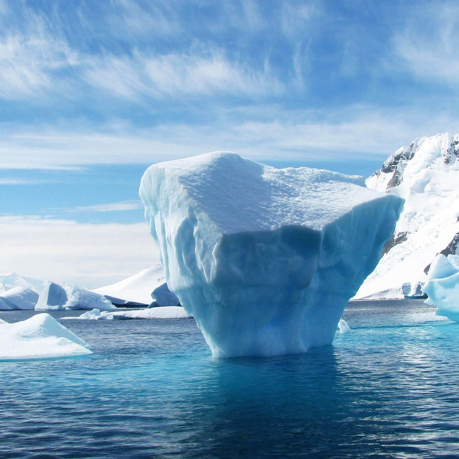 a small iceberg