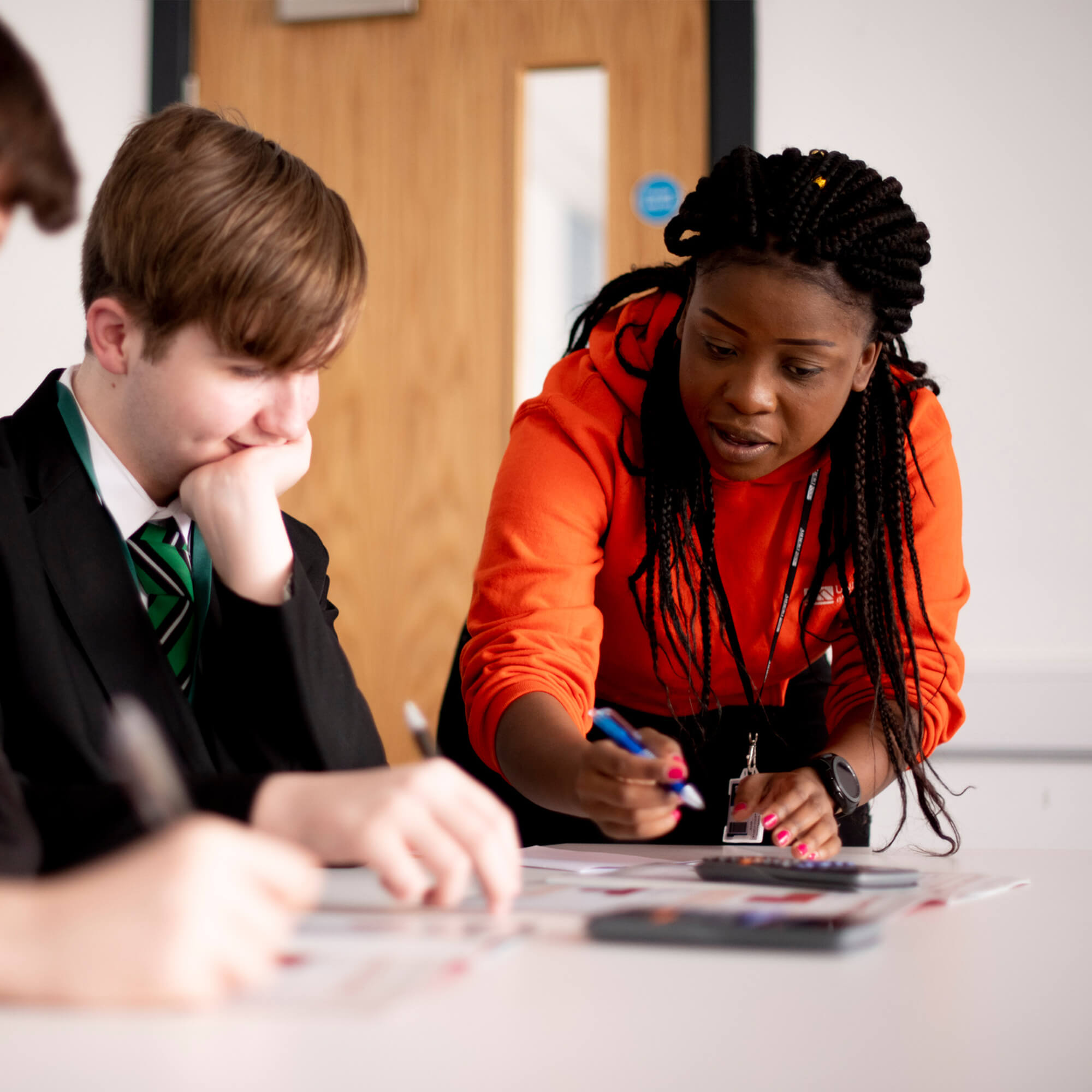 Teaching in a classroom setting
