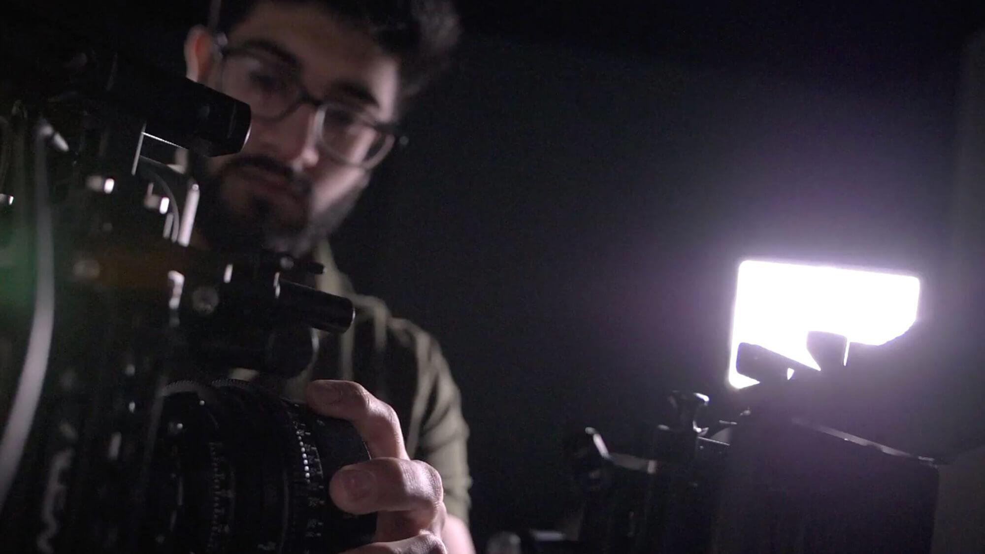 Omar Soomro smiling