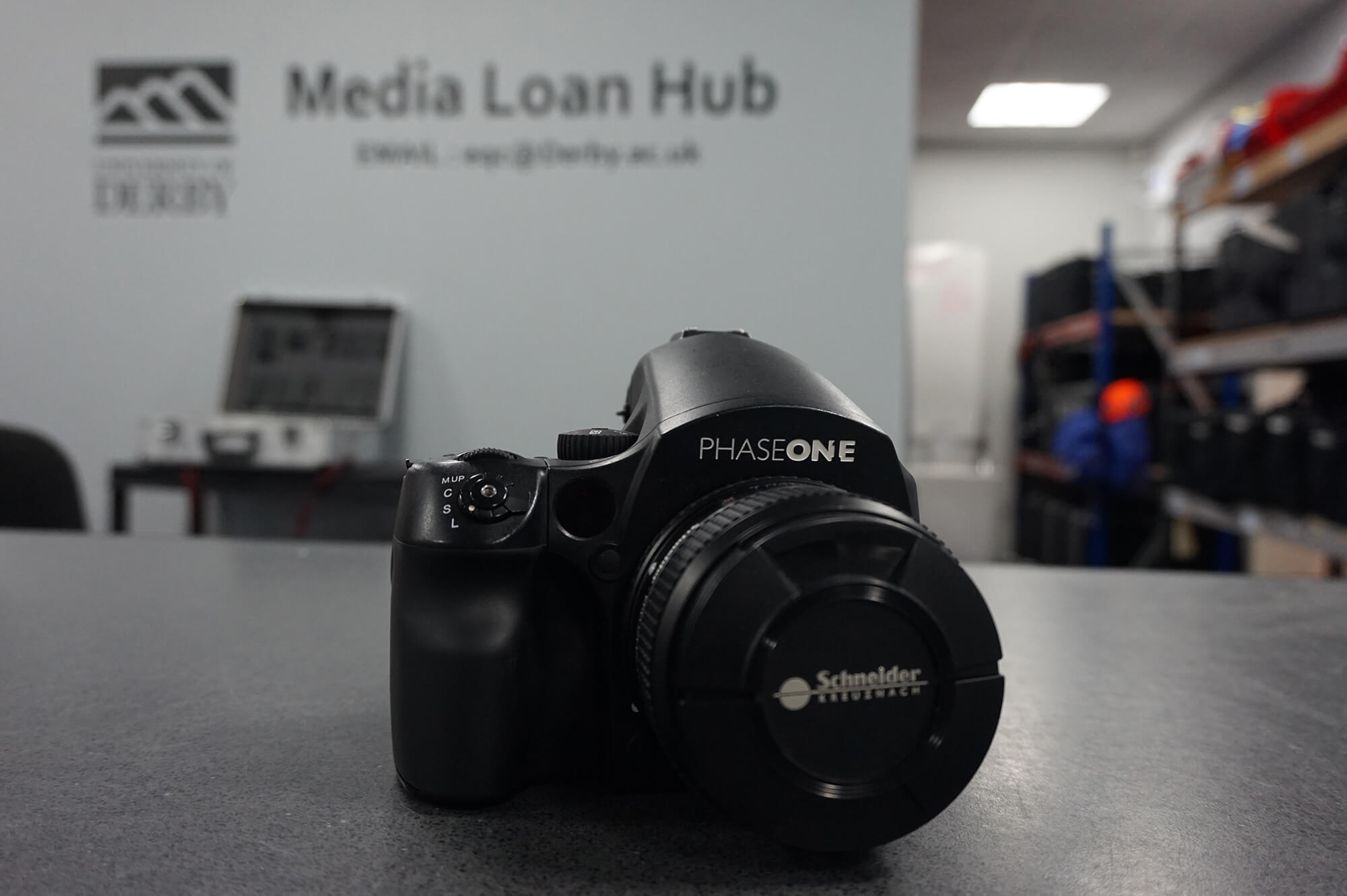 The media loan hub at our Markeaton Street site
