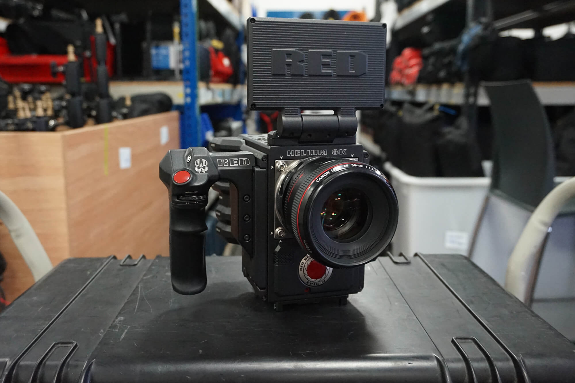 Red Helium 8k camera