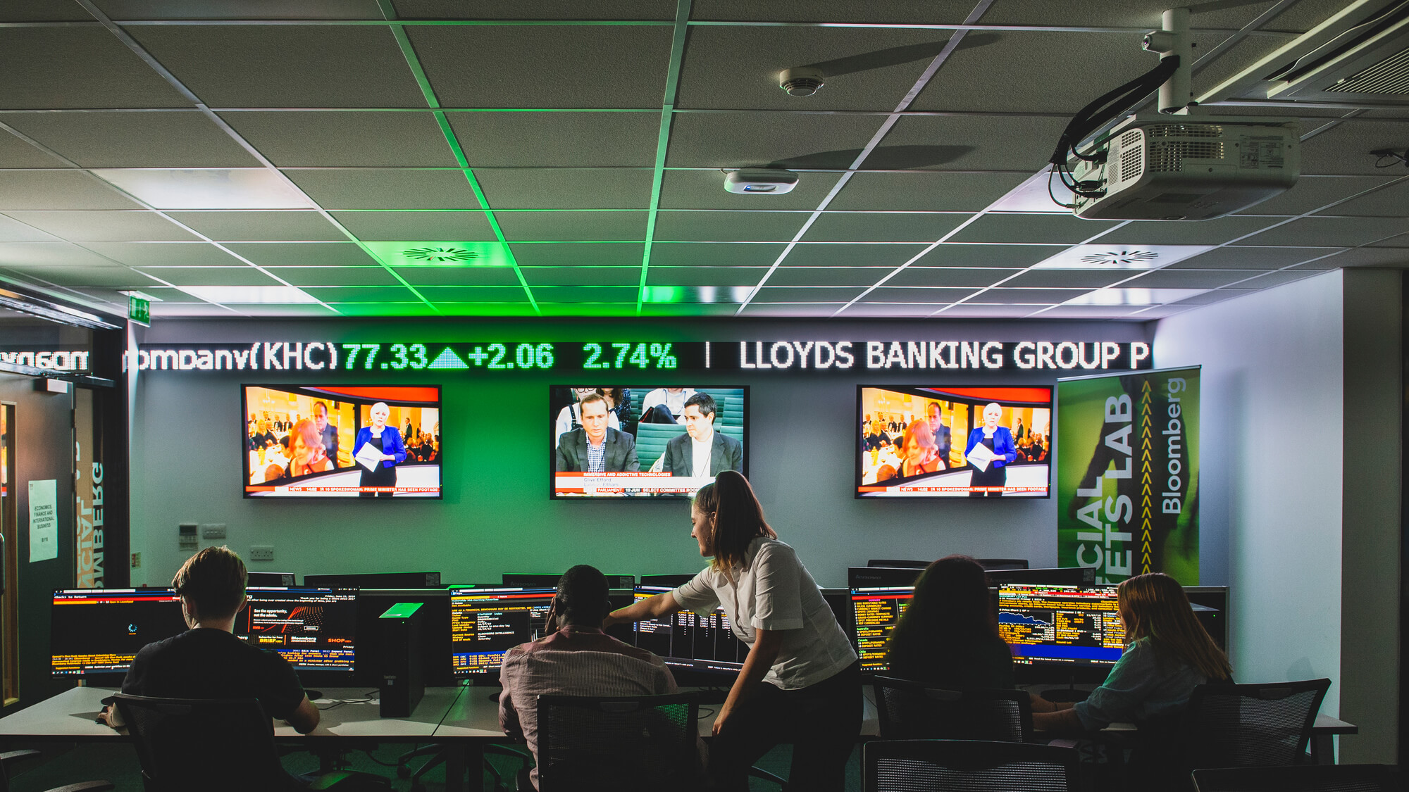 Virtual tour of our Bloomberg Suite
