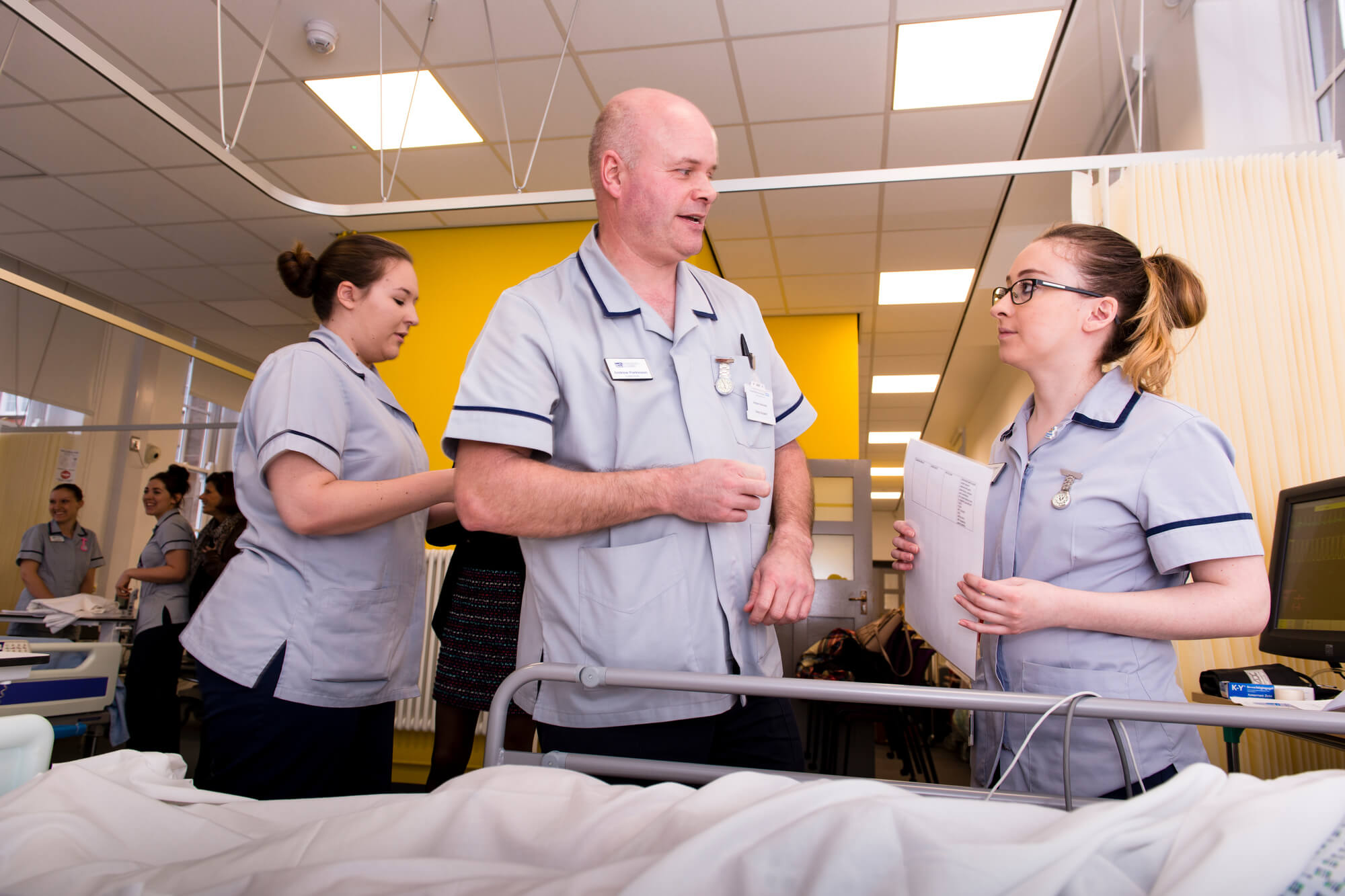 The clinical skills suite in Chesterfield