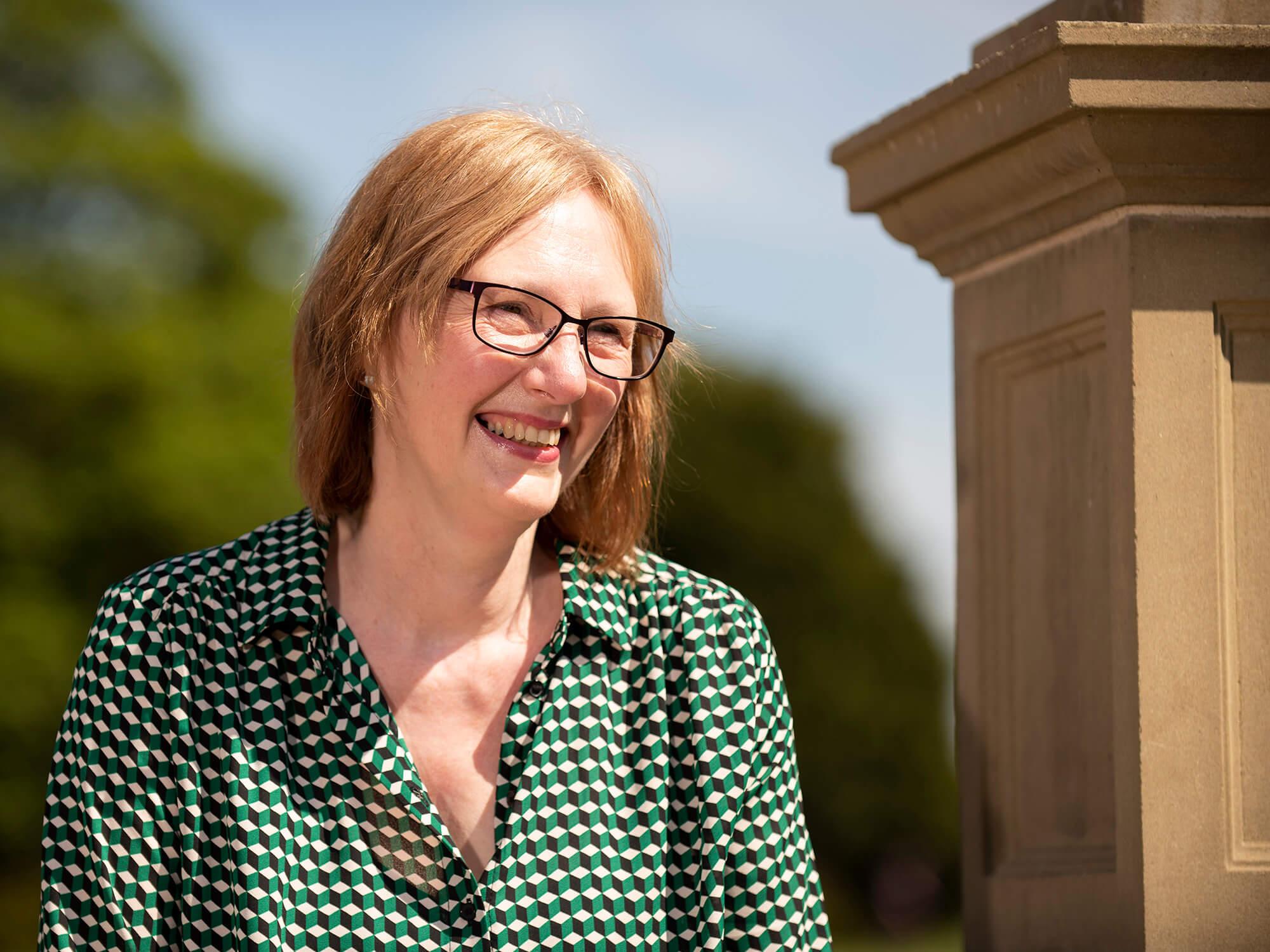 MA student Jill Baker
