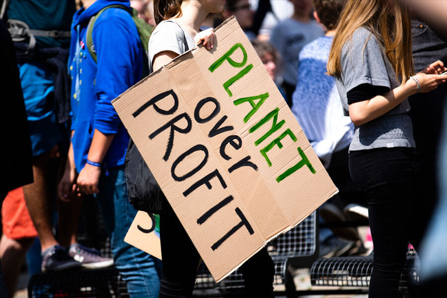 protest, save the planet