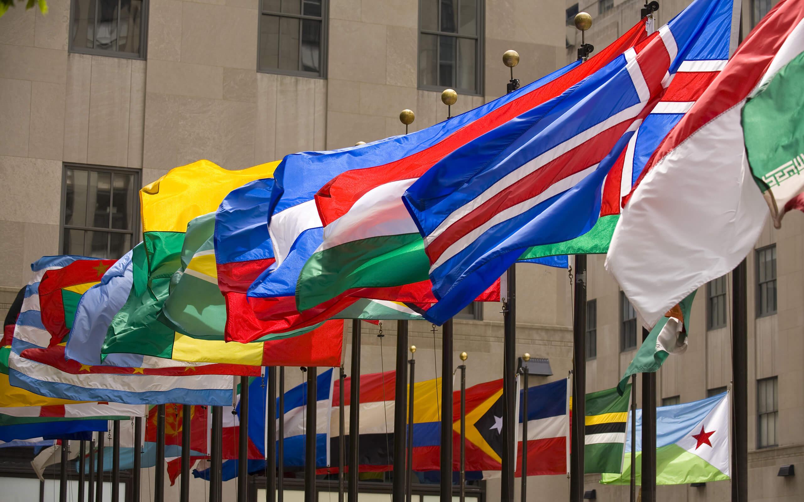 UNITAR flags