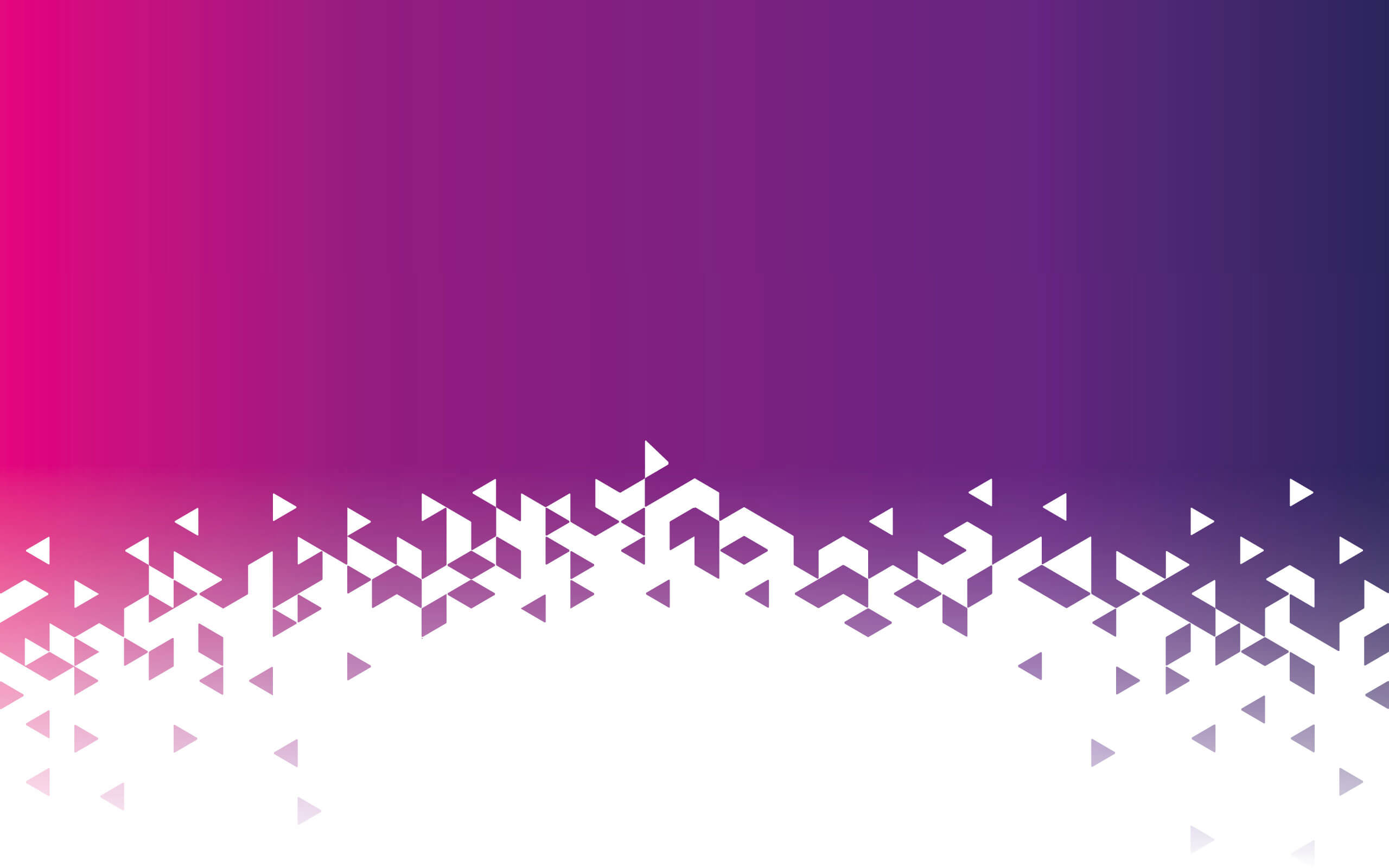 Triangle effect white pink and purple background