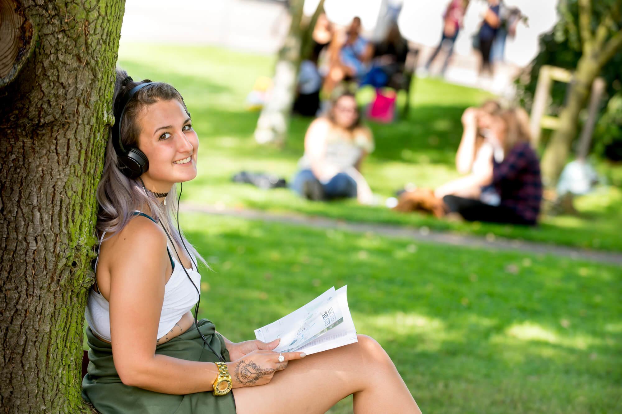Student outdoor