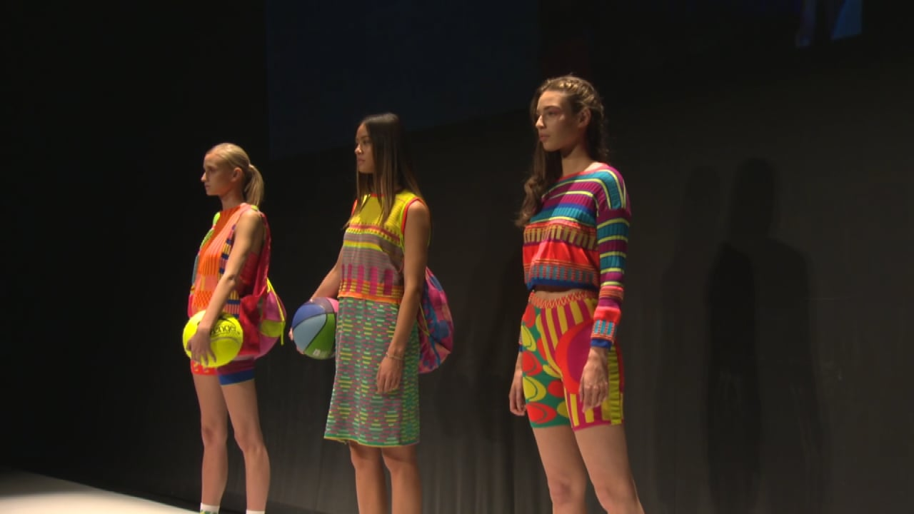 Highlights from the Fashion Show at Derby Theatre