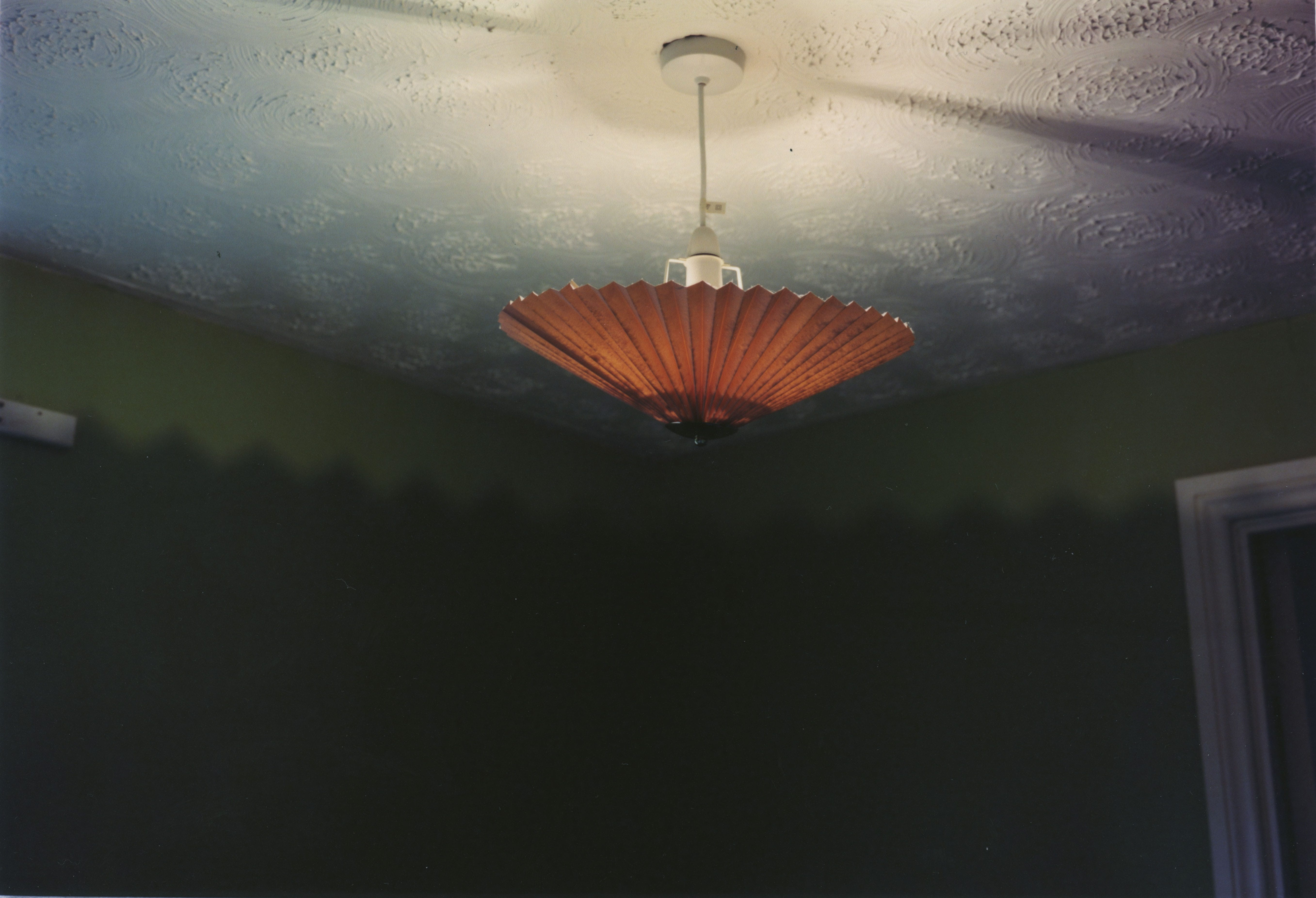 Photo of a ceiling light