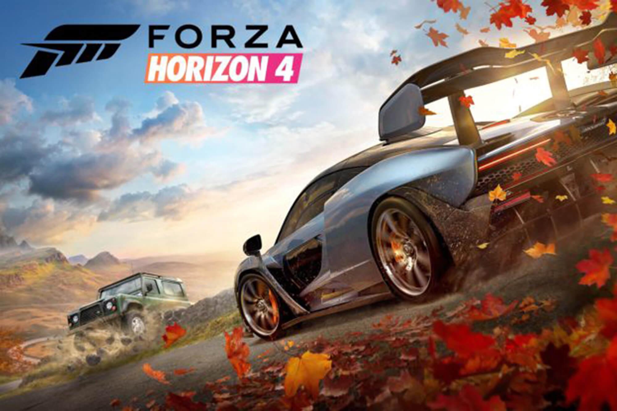 Screenshot of Xbox game Forza Horizon 4