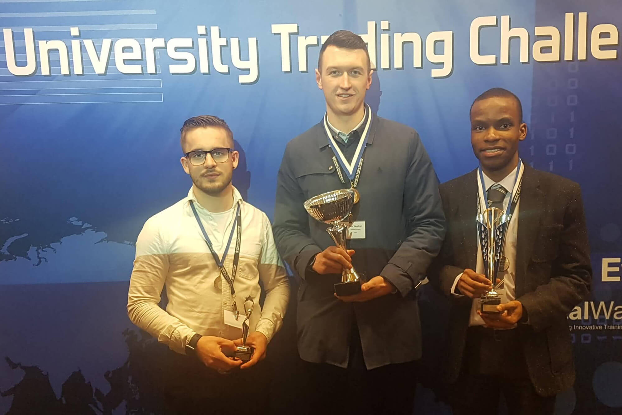University Trading Challenge winners