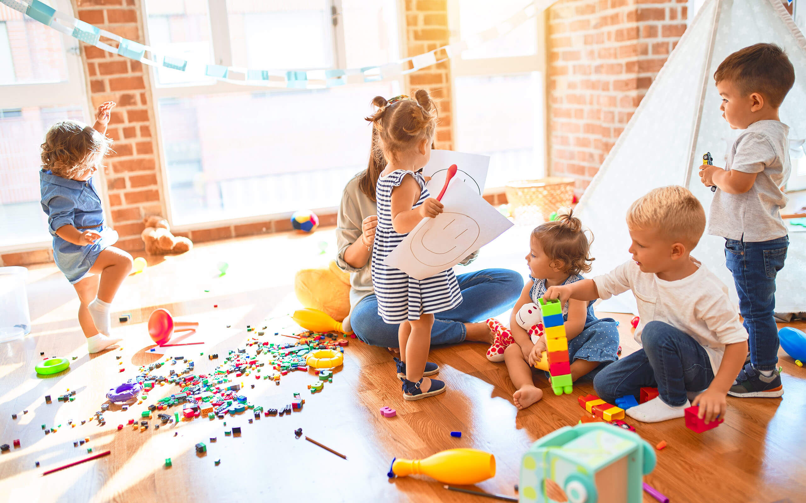an educational psychologist working with children