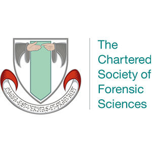 The Chartered Society of Forensic Science Accreditation Logo