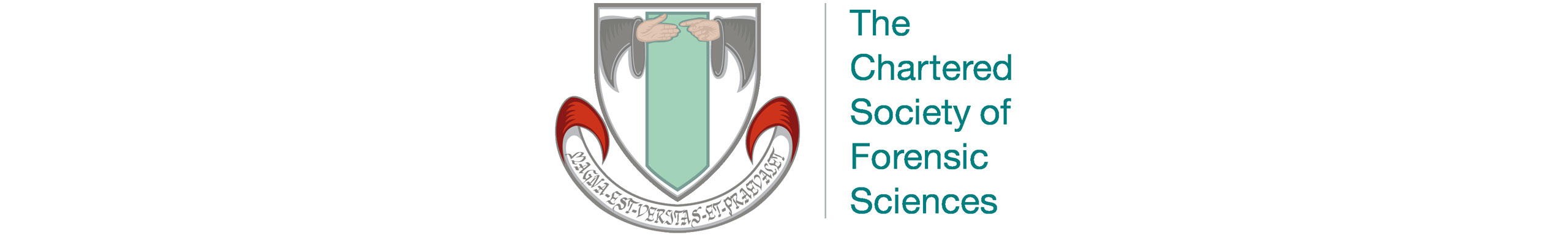 The logo for The Chartered Society of Forensic Sciences.