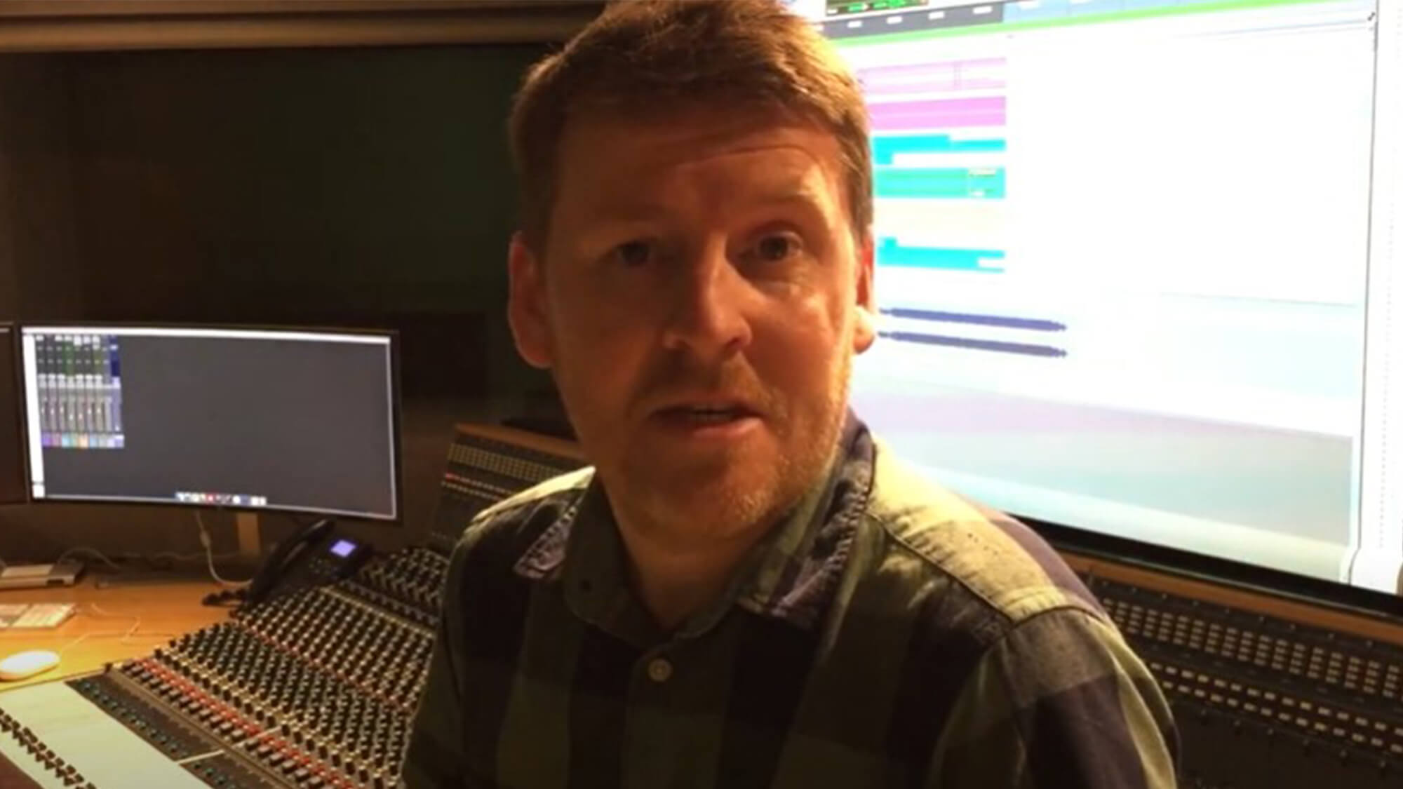 Dr Paul Vandemast-Bell, Programme Leader for BSc (Hons) Music Production.