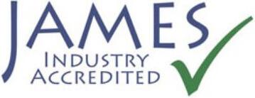 JAMES logo