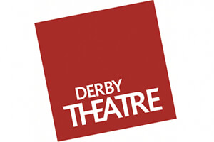 Derby Theatre red and quite logo
