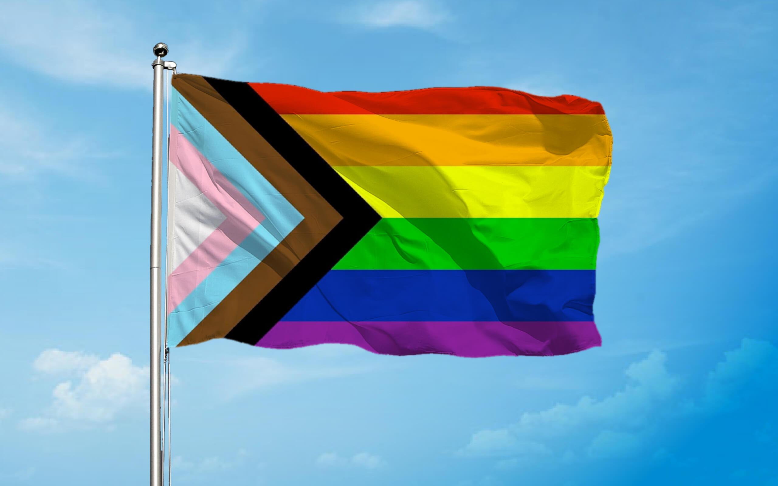 LGBT+ Progression flag