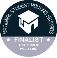 National Student Housing Awards 2021 Finalist - Best Student Wellbeing