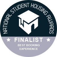 National Student Housing Awards 2021 Finalist - Best Booking Experience