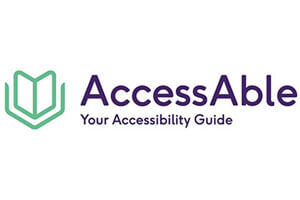 Logo: AccessAble - Your Accessibility Guide