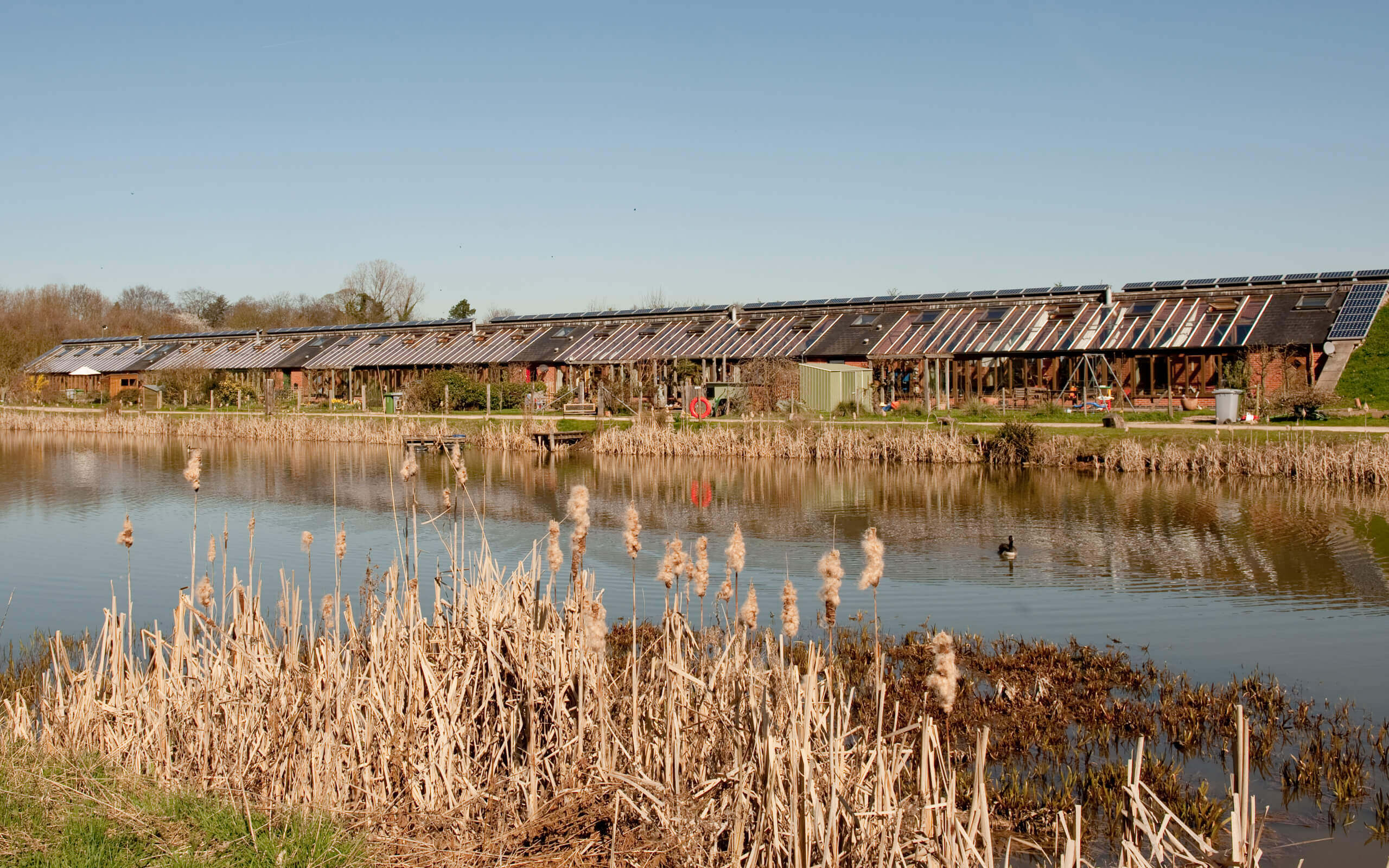 Sustainable homes at the Hockerton Housing Project