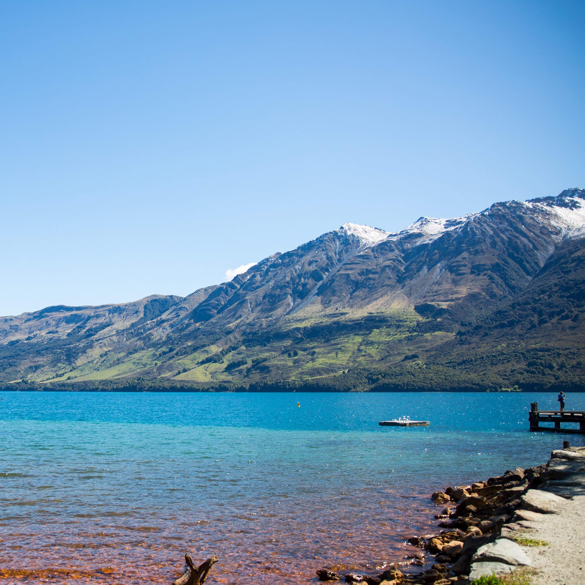 Mountains in Queenstown, New Zealand