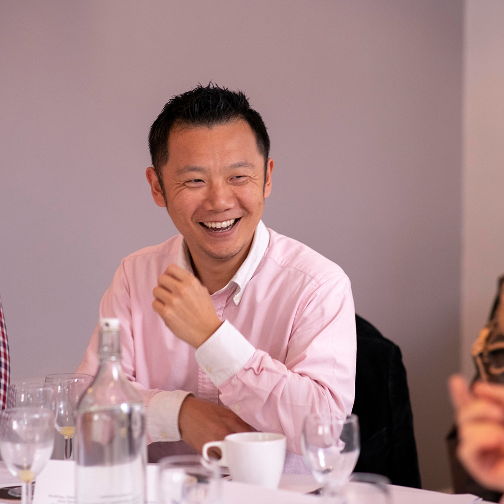 Yasu Kotera smiling
