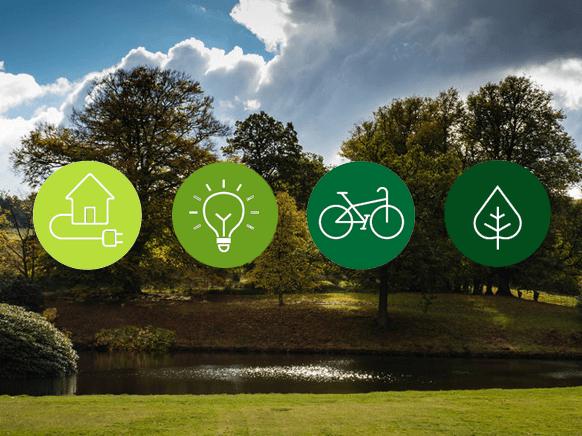 Environmental symbols and scenery