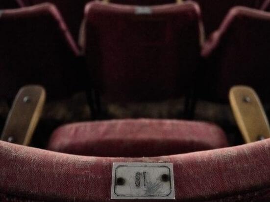 cinema seating rustic cinema