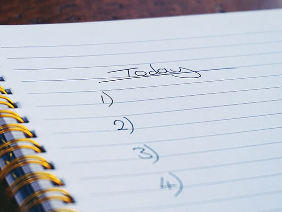To do today list