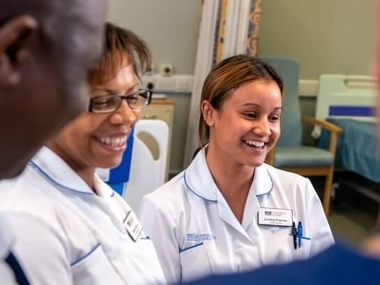 Nurses at Derby