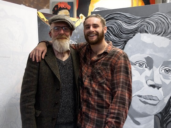 Artist and their artwork
