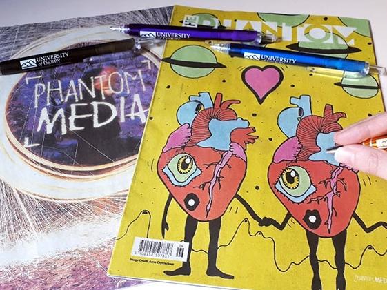 Magazines from Phantom media