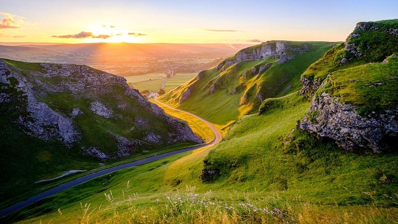 Winnats Pass, Derbyshire