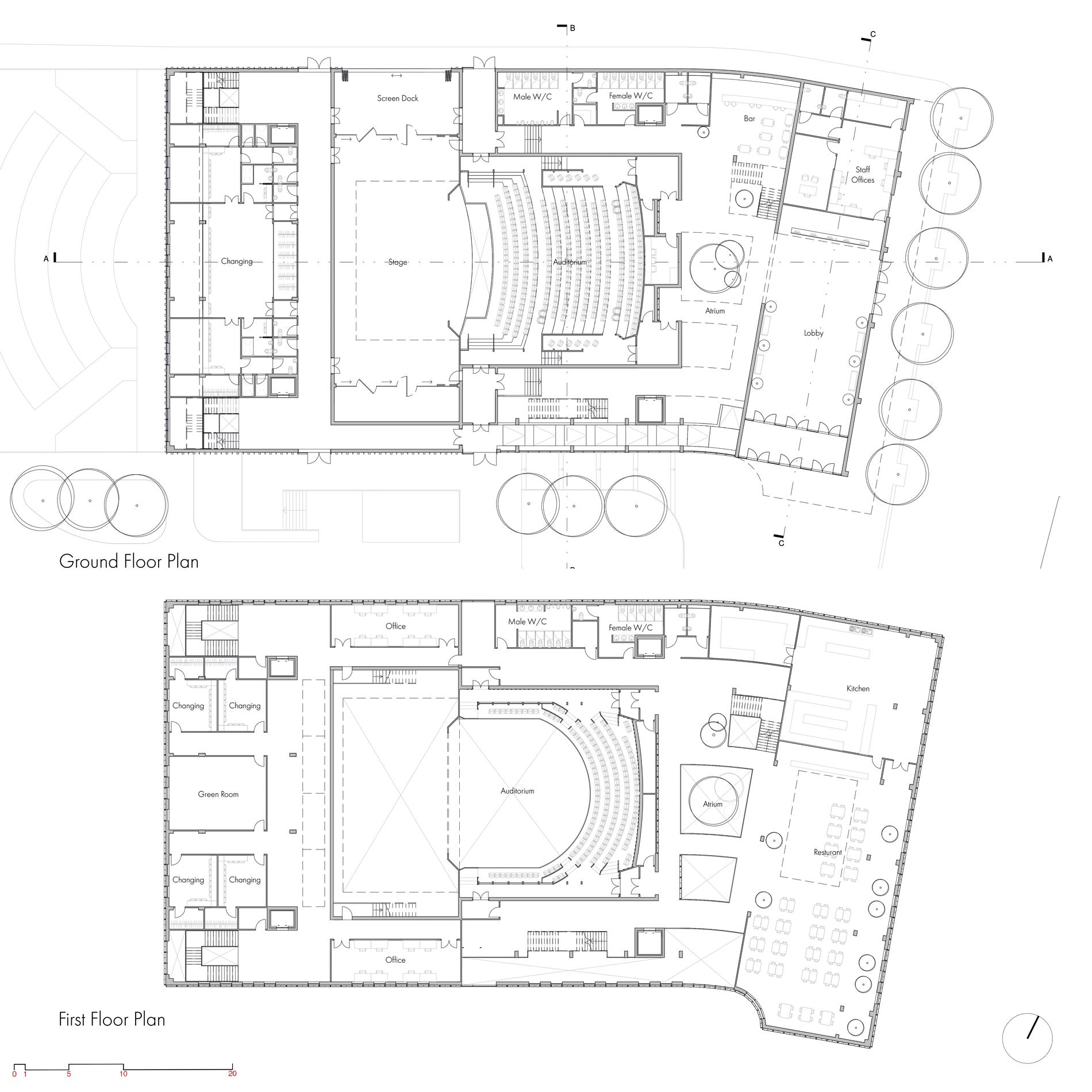 Derby Opera House floorplan 1