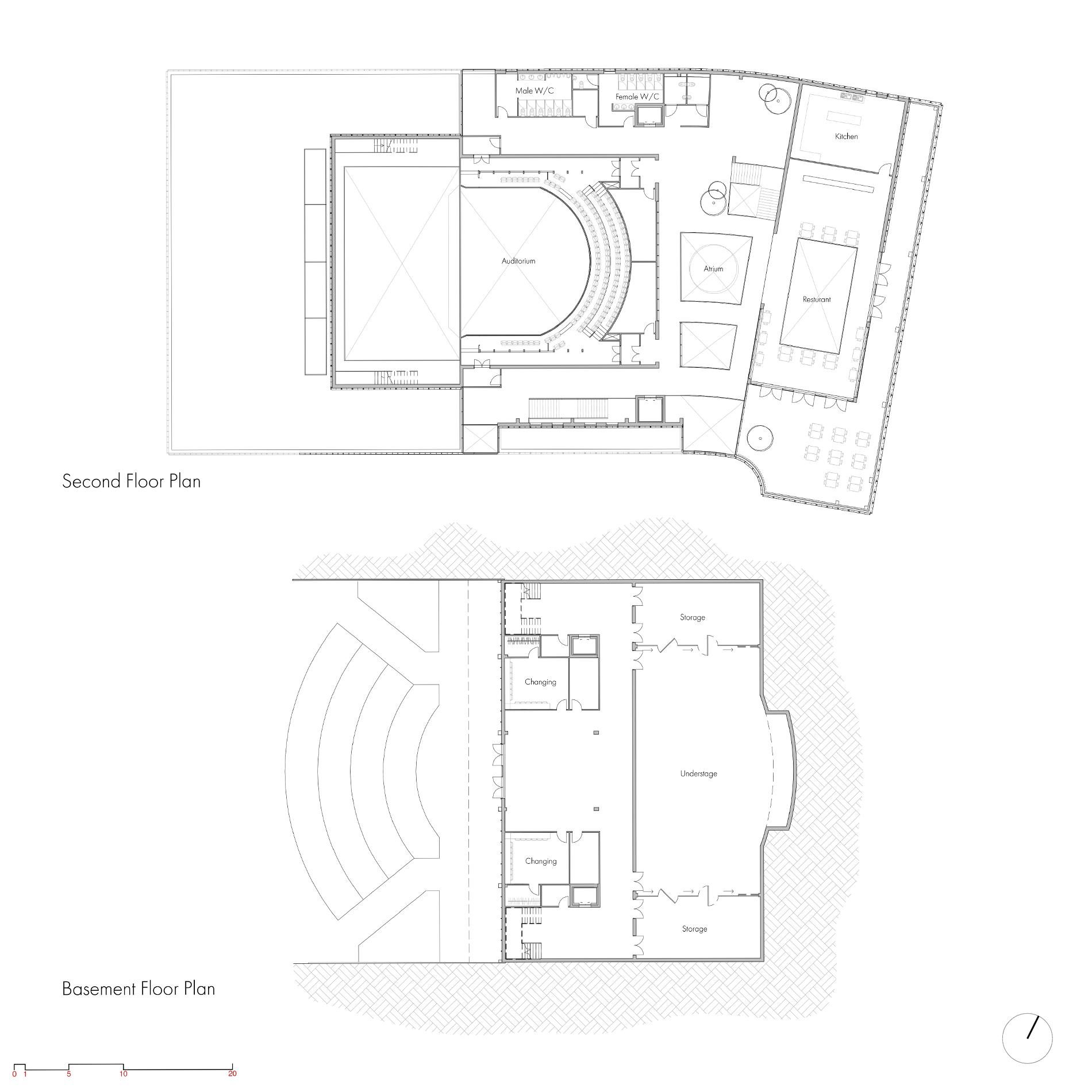 Derby Opera House floorplan 2