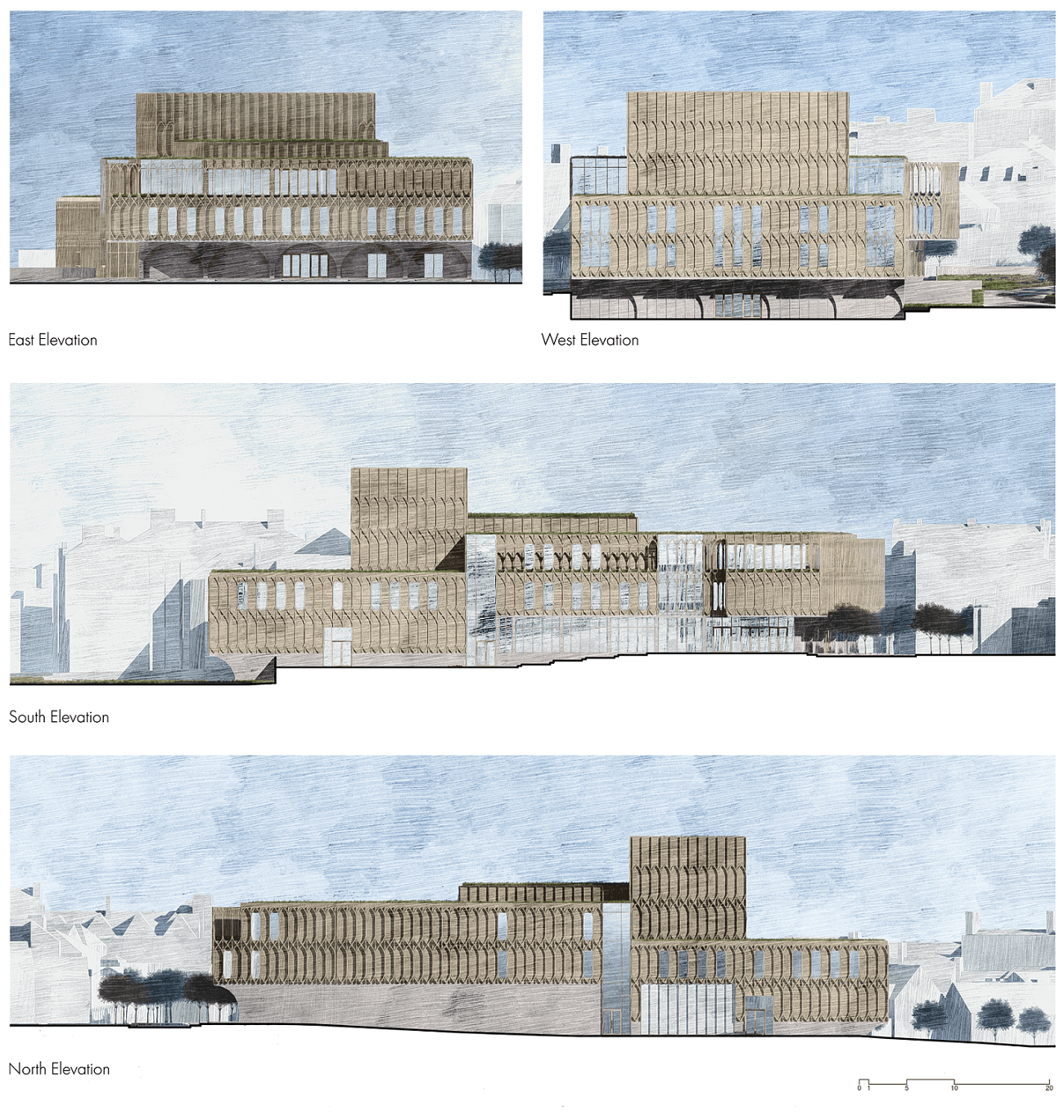 Derby Opera House Elevations