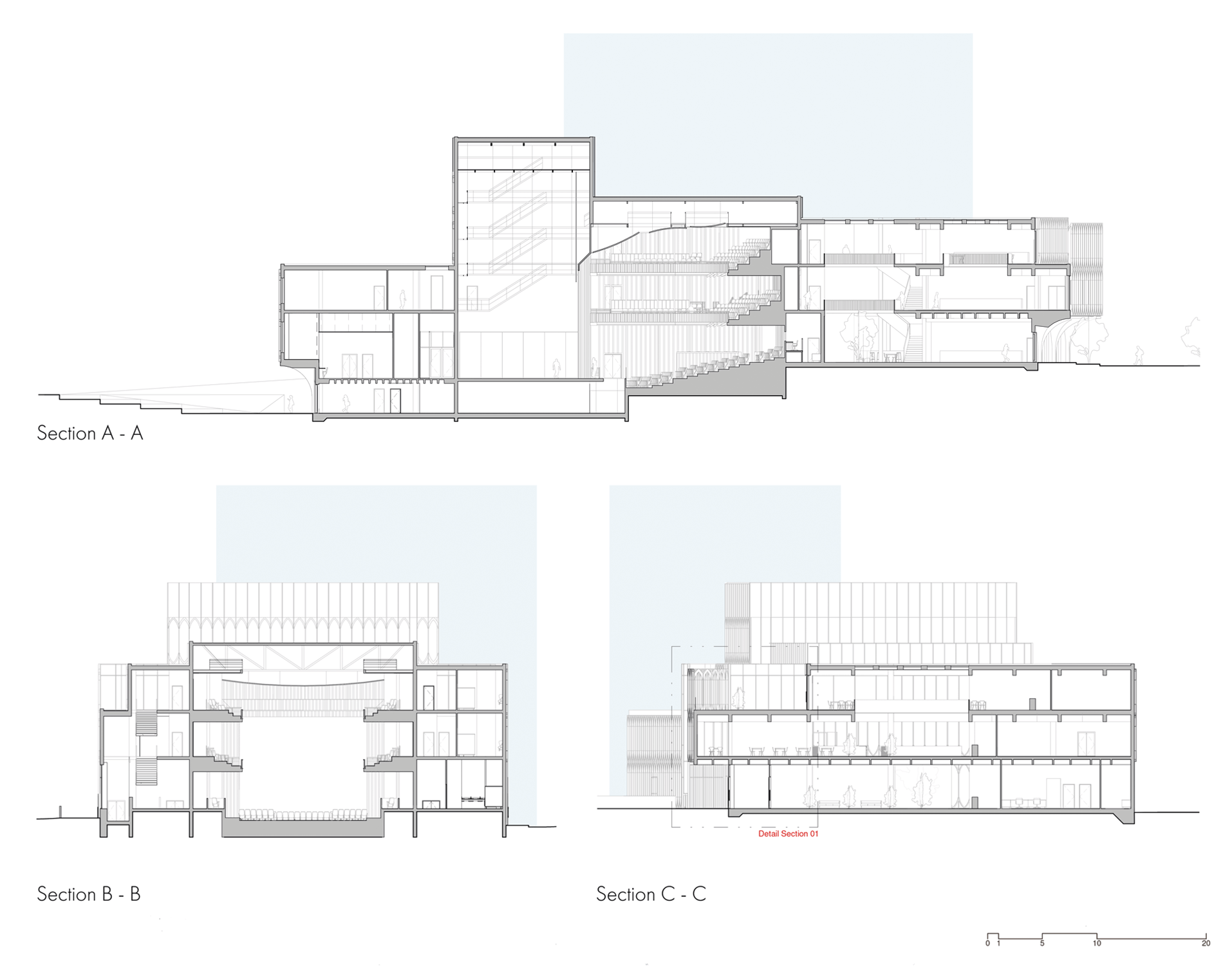 Derby Opera House Sections