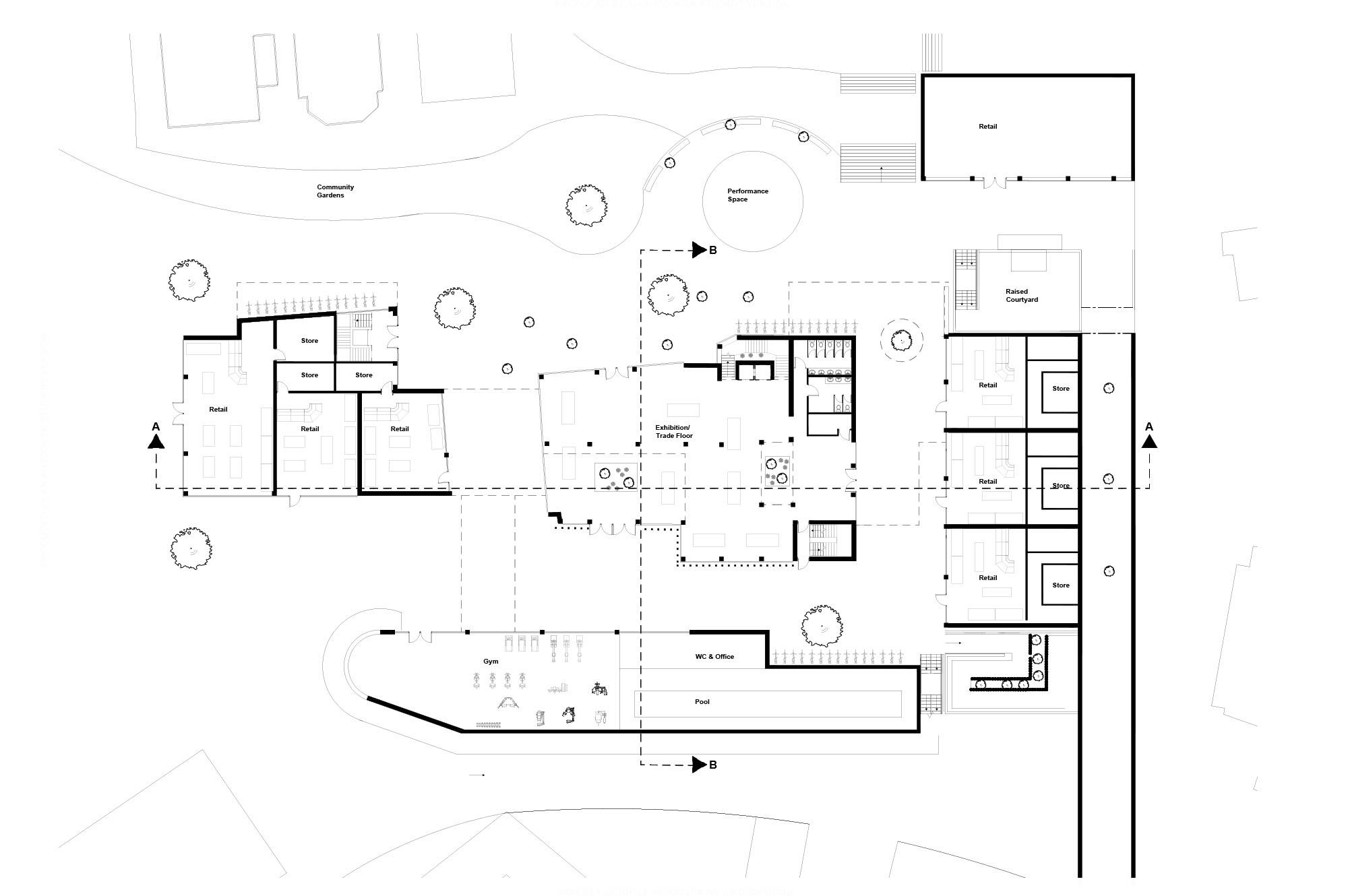 The Engine Ground Floor Plan