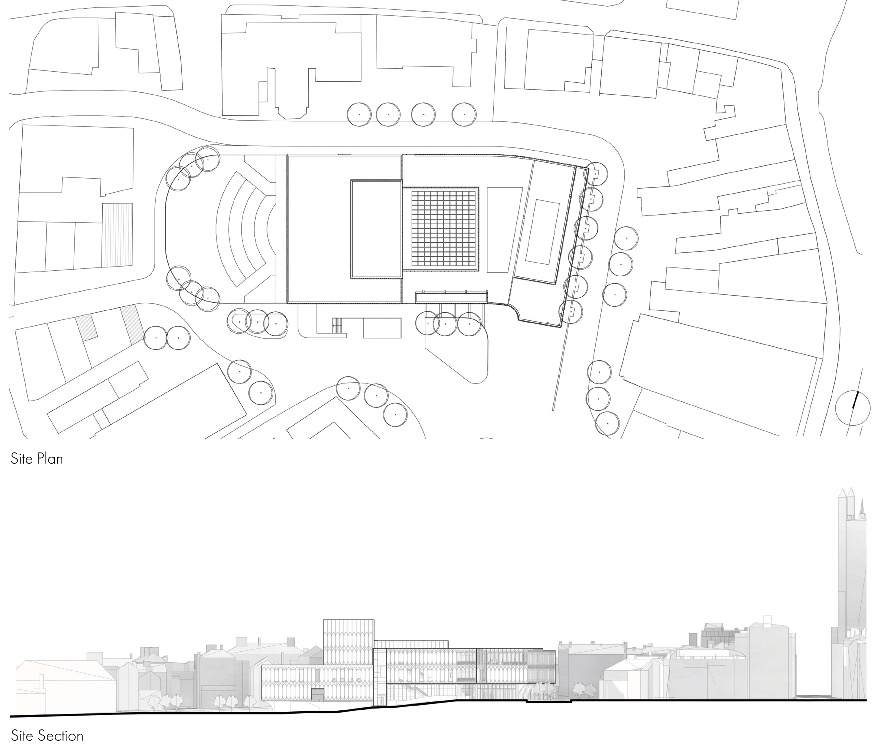 Derby Opera House Site Plan & Section