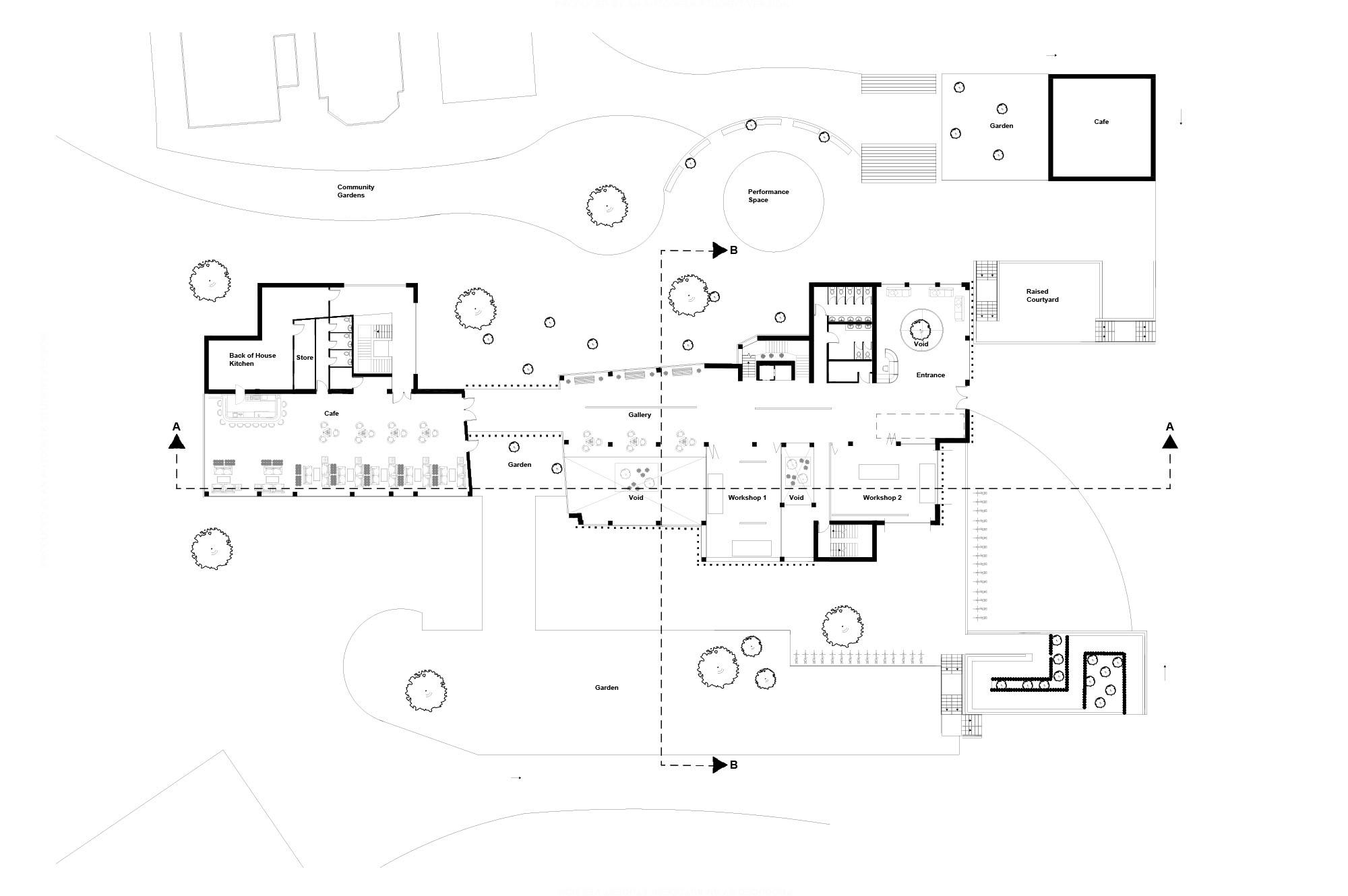 The Engine First Floor Plan