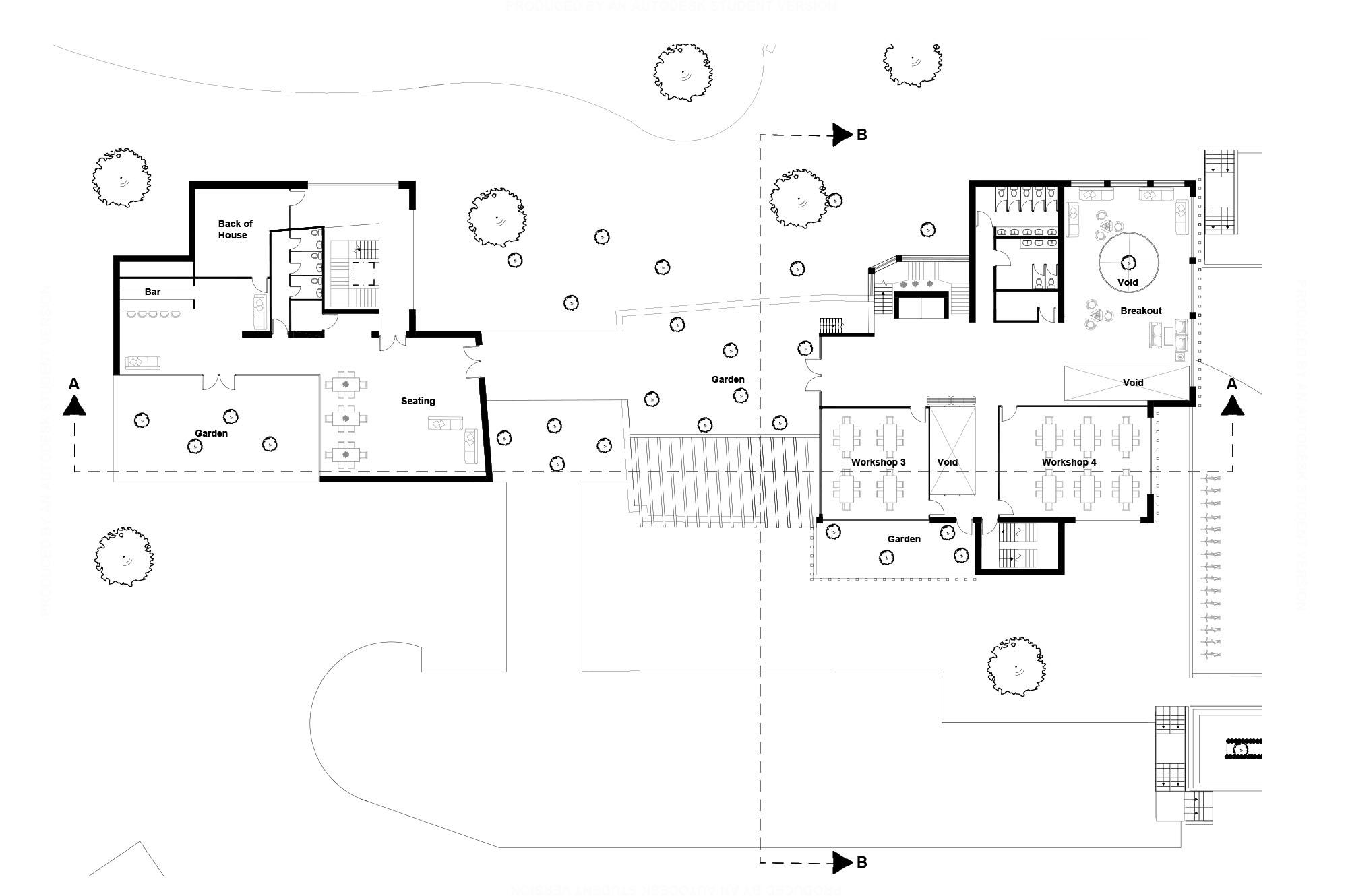 The Engine Second Floor Plan