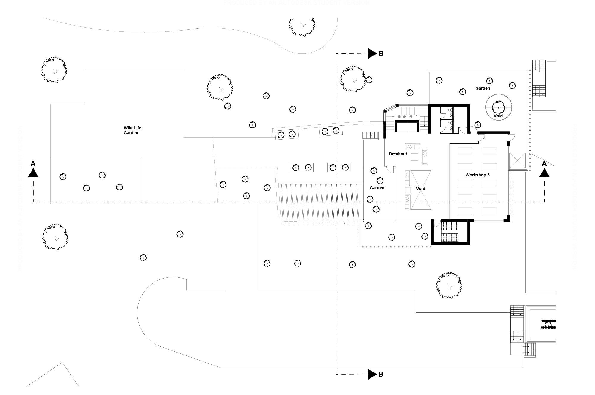 The Engine Third Floor Plan