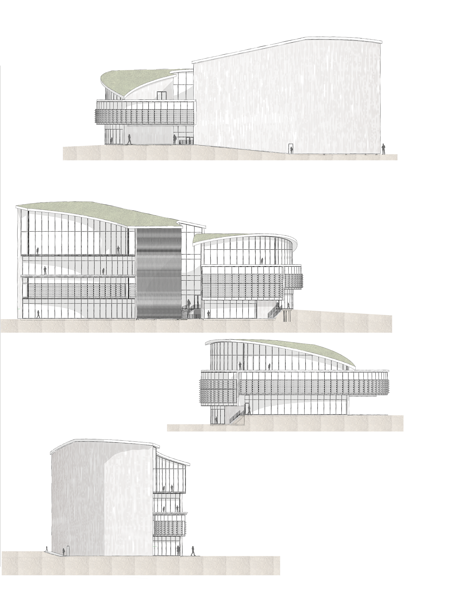 Culinary School Phase 3 Elevations
