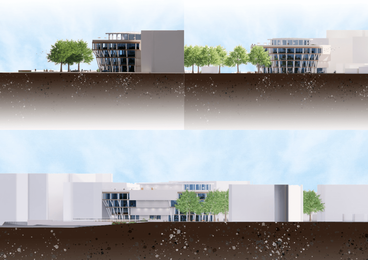 Botanic Garden and Research Centre Elevation